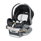 KeyFit Infant Car Seat - How to clean car seat straps and base