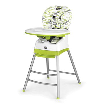 Polly Stack High Chair - Kiwi