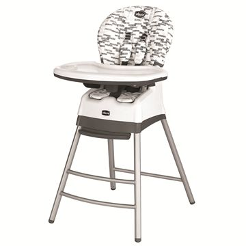 Polly Stack High Chair - Oyster