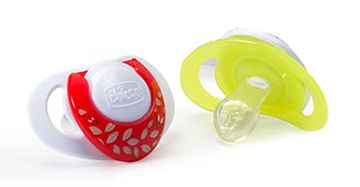NaturalFit 2-Pack Deco Orthodontic Pacifier 0M+