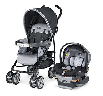 Chicco Neuvo Travel System with KeyFit 30 Infant Car Seat - Techna